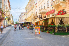 The old Chernivtsi Royalty Free Stock Image