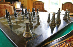 Old chess Royalty Free Stock Photo