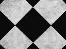 Old chess board. Retro vintage form square rhombus geometry Royalty Free Stock Photos