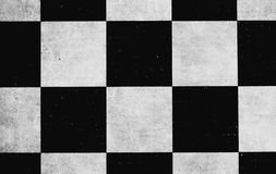 Old chess board. Retro vintage form square rhombus geometry Stock Image