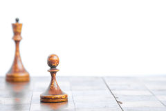 Old chess Board. Stock Image