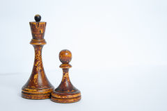 Old chess Board. Stock Photo