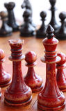Old chess Stock Photography