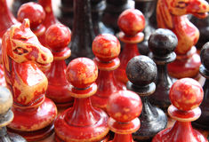 Old chess Royalty Free Stock Image