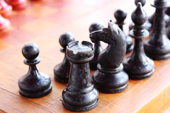 Old chess Stock Image