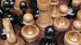 Old chess stock video