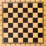 Old chessboard Royalty Free Stock Photo