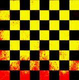 Old Chessboard Background Stock Images