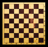 Old Chessboard background Stock Image