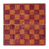 Old chessboard. Isolated Stock Photos