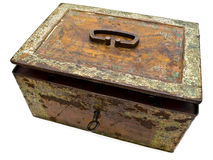 Old chest Royalty Free Stock Images
