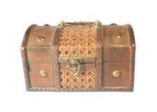 Old chest Royalty Free Stock Photo