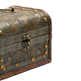 Old chest stock image
