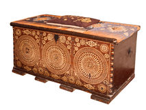 Old Chest. Royalty Free Stock Image