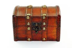 Old chest Royalty Free Stock Image