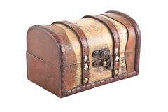 Old chest. Royalty Free Stock Photos