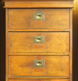 Old chest of drawers Stock Photos