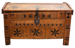 Old chest Royalty Free Stock Photos
