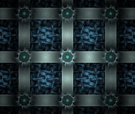 Old chest pattern. Fractal design Royalty Free Stock Photography