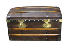 Old chest Royalty Free Stock Photography