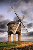 The old Chesterton Windmill under grey clouds Stock Photography