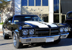 Old Chevelle SS Car. The old Chevelle SS car on the street Stock Image