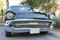 Old Chevrolet car. The old Chevrolet Bel Air car at the show Royalty Free Stock Photos