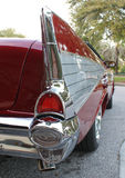 Brake Lights. The Old Chevrolet-1957 car brake lights or tail lights Stock Photos