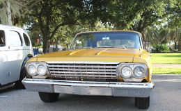 Old Chevrolet Car. The old Chevrolet Impala car at the show Stock Photography