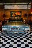 Old chevrolet car at Night market, Srinakarin road, Bangkok, Thailand Royalty Free Stock Images