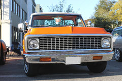 Old Chevrolet Truck at the car show. The Old Chevrolet Truck at the car show in Winter Haven, Florida-2014 Royalty Free Stock Image