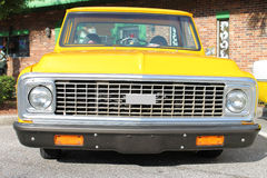 Old Chevrolet Truck. The old Chevrolet truck at the show Royalty Free Stock Image