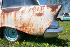 Old Chevy, Chevrolet, Tail Fin Royalty Free Stock Photography