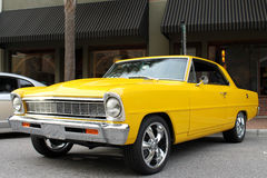 The old Chevy II car. The old Chevy II at the car show Royalty Free Stock Images