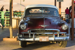Old Chevy. In Sharja. UAE, United Arab Emirates Royalty Free Stock Image