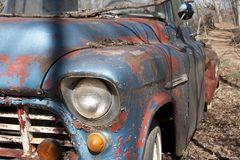 Old Chevy Truck Stock Photo