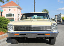 Old ChevyII SS car. The old Chevy II SS at the car show Royalty Free Stock Photos