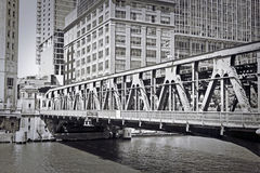 Old Chicago Design Royalty Free Stock Photography