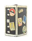 Old travel trunk bank Royalty Free Stock Photography