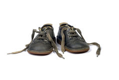 Old child shoes Stock Images