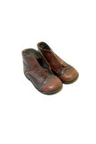 Old child shoes from 1971 Stock Image