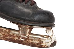 Old children's skates Stock Photos
