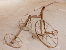 An old children's tricycle 1930 Stock Photo