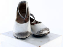 Old Children Shoes Stock Photography