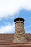 The old chimney. An old chimney in Aisa, Huesca (Spain Royalty Free Stock Photos