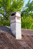Old chimney on a farmhouse Royalty Free Stock Photo