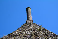 Old chimney in Peyrusse le Roc Royalty Free Stock Photography