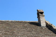 Old chimney. In a Serbian village Royalty Free Stock Photography