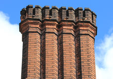 Old chimney stacks Royalty Free Stock Photos