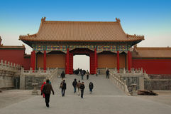 Old china architurecture Royalty Free Stock Photo